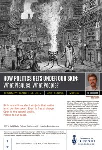 Politics Plagues and People Mar 23