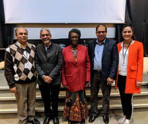 Dr. Neil Arya, Dr. Vikram Patel, Prof. Miriam Were, Dr. Shafi Bhuiyan, Michelle Amri