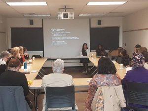 Michelle Amri & Dilani Logan, CSIH's MentorNet program