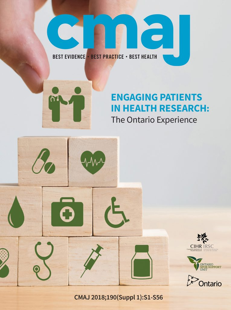 CMAJ cover photo: building blocks of care