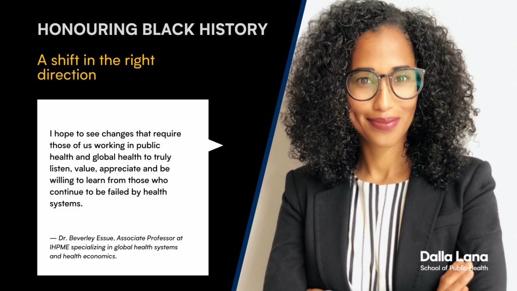 Beverley Essue shares her thoughts on Black History Month