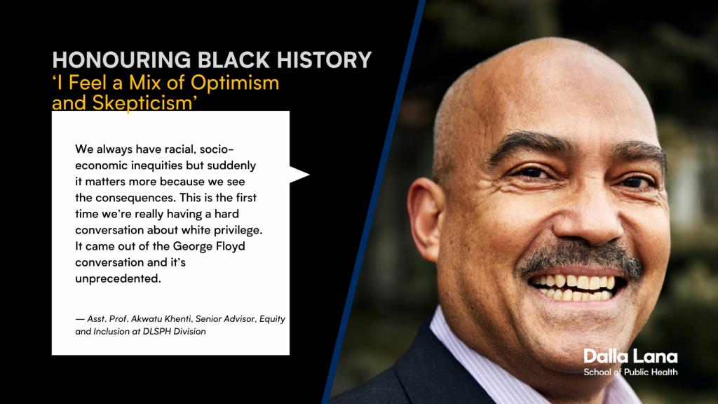 Akwatu Khenti's statement on Black History Month