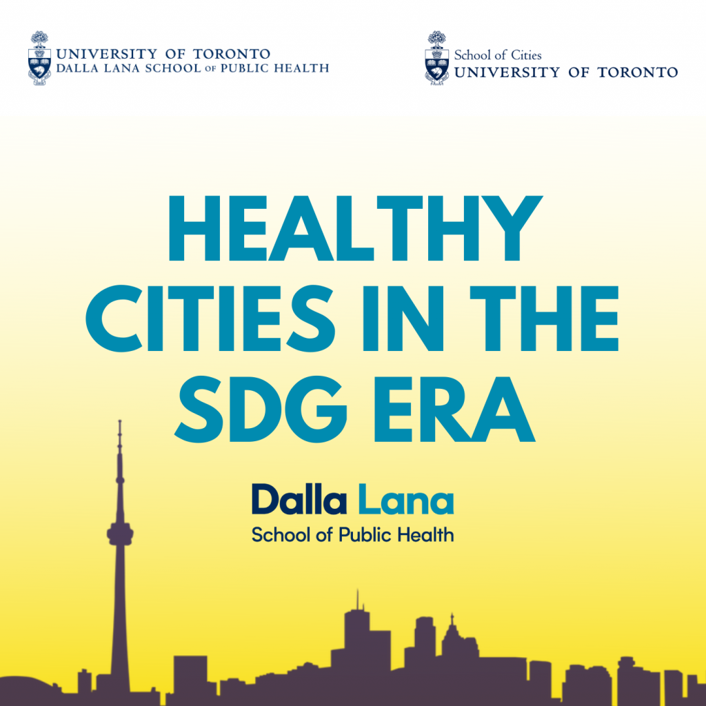 Healthy Cities in the SDG Era[1]